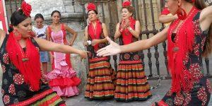 04 - Coro Rociero Amanecer en despedida de soltera de Iratxe en Sevilla